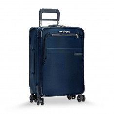Luggage Briggs & Riley Baseline U122CXSP-5 Limited Edition Domestic Carry-On Exp Spinner Navy