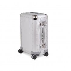 Luggage Fpm Bank S A18053 53cm Spinner Moonlight Silver