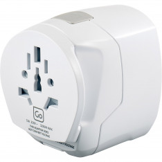 Accessories Travel Go Travel Adaptors 639 Worldwide Usb Earthed Assorted