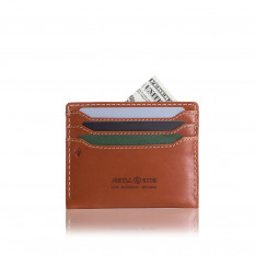 Accessories Jekyll And Hide Roma 3628ROTAG Slim Card Holder Tan
