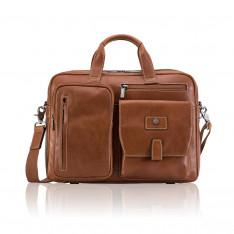 """Bags Jekyll And Hide Montana 3661 15"""" Briefcase Colt"""