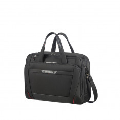 "Business Samsonite Pro Dlx 5 106352 15.6"" Bail Handle Brief Black 1041"