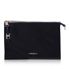 Casual Tumi Voyageur 196357 Basel Triangle Pouch Black